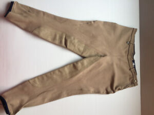 EQUESTRIAN RIDING APPAREL MILLERS PANTS TAN WOMANS SIZE 36 L