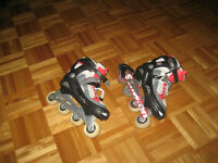 patin a roue aligné