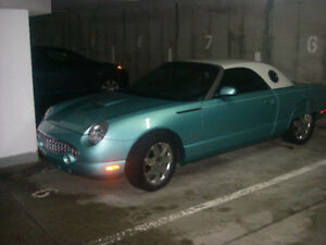 Thunderbird 2002 décapotable