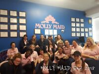 MOLLY MAID - Use of MOLLY car 24/7!! $18-22 per hour