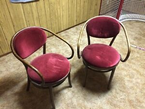 Antique arm chairs