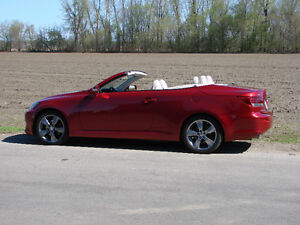 2010 Lexus IS cuir Cabriolet  is250c