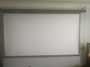 Projector and automatic screen