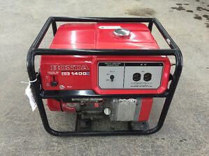 Honda Generator EB1400X (Lightly Used)