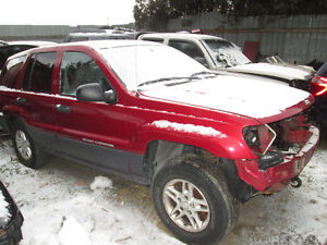 2004 jeep grand cherokee for parts