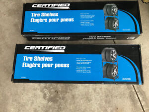 Canadian Tire Certified Tire Shelves, brand new
