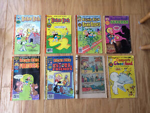 Richie Rich (Harvey Comics 1975-81) 8 issues / only $8 (Casper)