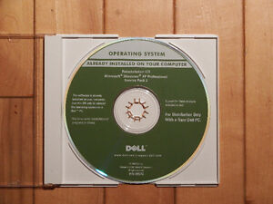 Windows XP Professional CD with Service Pack 2 Full Install