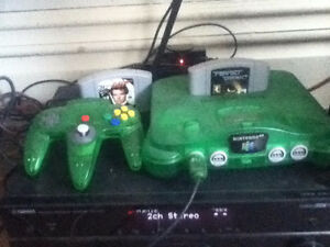 N64 with Goldeneye and Perfect Dark
