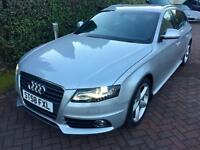 Audi A4 2.0TDI (170ps) quattro S Line Estate 5d 1968cc