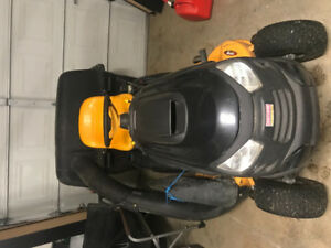 Craftsman lawntractor and attachments