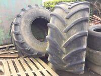 Slurry tanker tyres