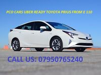 PCO Cars to rent or hire today from £ 70 to £ 220