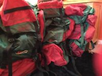 Outbound Rucksacks x 3