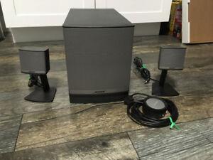 Bose Companion 3 Series II Multimedia Speaker System - $225