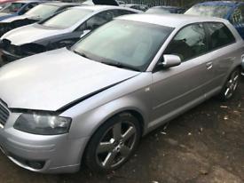 Audi A3 8p 2004-2008 Breaking door bumper wing mirror alloys leather