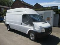 2012 12 FORD TRANSIT 2.2 350 LONG WHEEL BASE, HIGH ROOF, 125 BHP, 6 SPEED, 12M M