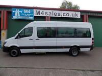 Mercedes Sprinter 513 BLUETEC 17 Seat Minibus A/C