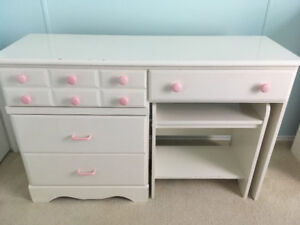 Dresser and Desk with bench