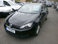 Volkswagen Golf 1.6TDI (105) 2011 S ONLY 66K FSH DRIVES WELL CHEAP ROAD TAX