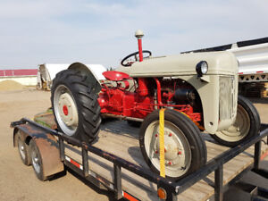 9N Ford Tractor w/ JD Mower