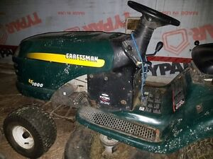 Craftsman LTD 1000 riding mower