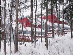 Maison de ville/chalet ski-out à partager à Bromont