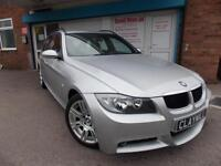 BMW 320d M Sport Touring Diesel Automatic Estate Silver 2007 (07)