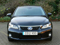 2012 12 REG LEXUS CT 200H 1.8 CVT SE-L 1 OWNER FROM NEW