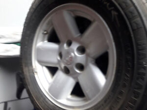 Dodge Ram 4x4 rims with studded tires