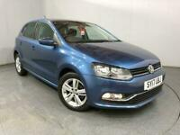 2017 Volkswagen Polo 1.2 TSI Match Edition 5dr DSG HATCHBACK Petrol Automatic