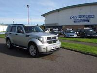 DODGE NITRO 2.8 SXT SERVICE HISTORY, ONE PREVIOUS OWNER