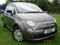 2012 Fiat 500 1.2 Pop 3dr [Start Stop] 3 door Hatchback