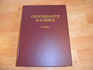 Concordance de la Bible 2e édition
