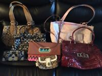 Authentic Coach purses and others for sale