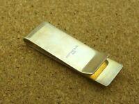 Luxury Tiffany & Co. Sterling Silver .925 Money Clip, RRP £180