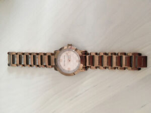 Michael Kors Rose Gold Watch (Band Very Scratched)