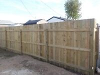 Pressure treated fence 32$ a foot