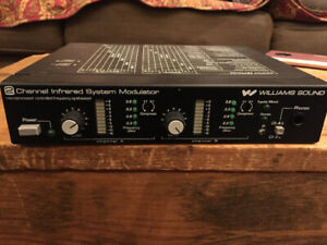 Williams Sound 2 Channel Infrared System Modulator