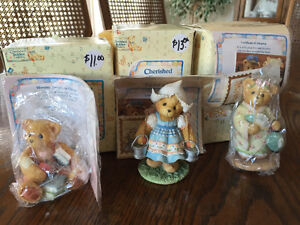 Brand New Cherished Teddies in boxes with authencity papers
