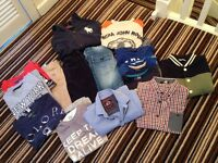 Age 7-8 boys clothes bundle. Great condition. only £20