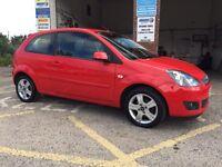 Ford Fiesta ZETEC, 2007/57, 1.25 petrol, 75000 miles, new mot, £1995 ono
