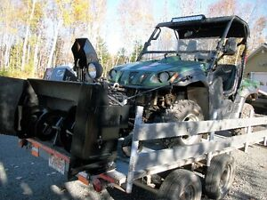 UTV snowblower