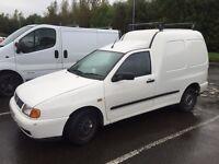 Volkswagen caddy van 1.9 sdi diesel 2003 years mot may swap p/x
