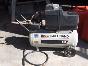 Ingersoll-Rand 8 gallon 1 HP compressor for sale