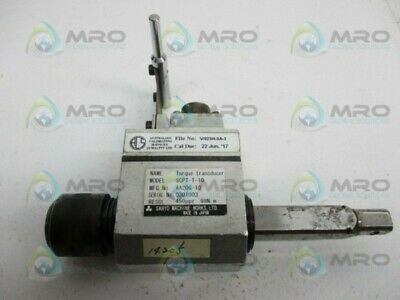 Sanyo Scpt-t-10 Torque Transducer Used