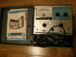 B&K 465 CRT Cathode Ray Tube Tester