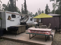 Candle Lake Golf Course RV Park For Sale Prowler Travel Trailer