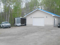 BEAUTIFUL HOME WITH MECHANICS DREAM GARAGE ON A LARGE LOT