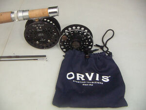 Vintage Orvis fly rod and reel Kawartha Lakes Peterborough Area image 4